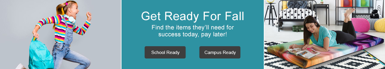 Get ready for fall with items they'll need for success in school.