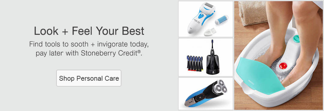 Find tools to sooth + invigorate today, pay later with Stoneberry Credit.