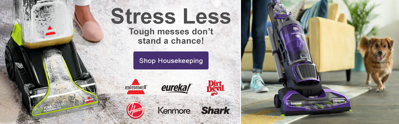 Tough messes don't stand a chance with housekeeping solutions from top brands.