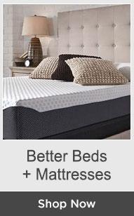 Shop Beds + Mattresses