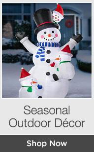 Shop Seasonal Outdoor Decor