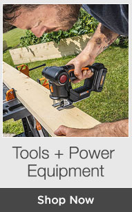Shop Tools + Power Equipment