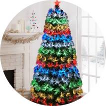 Christmas Trees + Trimming