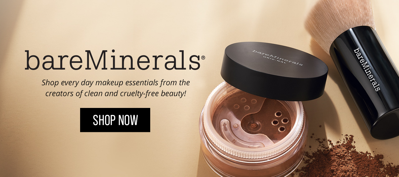 Shop every day makeup essentials from the creators of clean and cruelty-free beauty - Shop bareMinerals