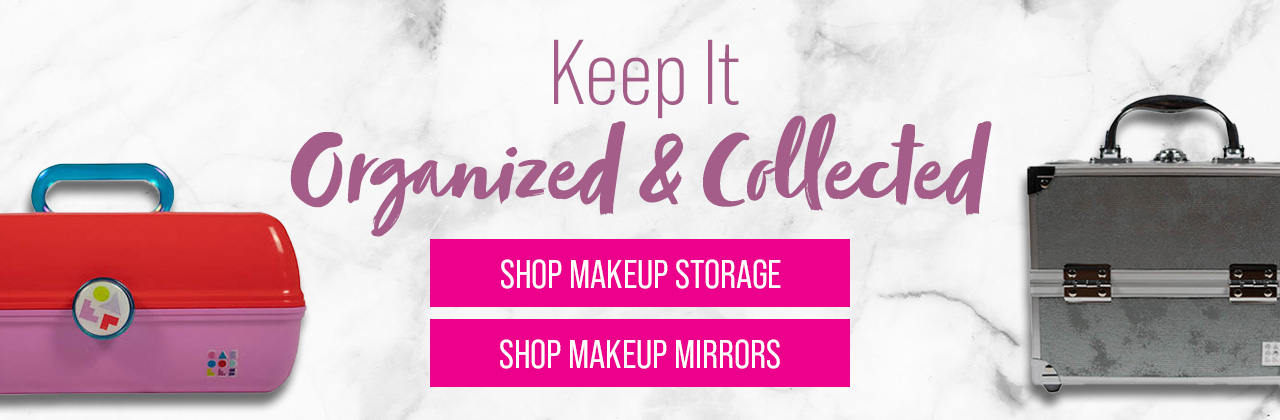Keep It Organized & Collected - Shop Makeup Storage