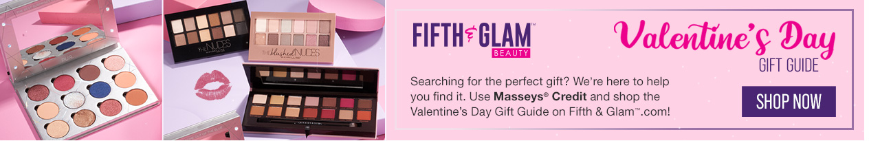 Use Masseys Credit to shop the Valentine's Day Gift Guide on Fifth & Glam.com