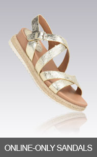 Shop Online-Only Sandals