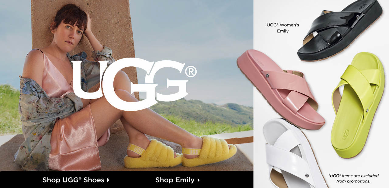 Shop All-New UGG Shoes and Sandals!