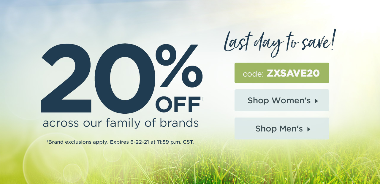 20% Off Your Order - Shop Now