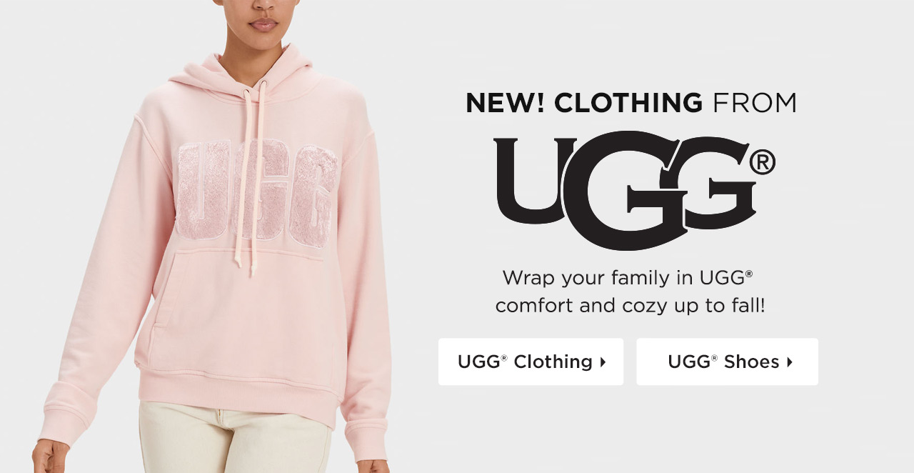 Shop new clothing and shoes from UGG!