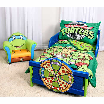 TMNT Toddler Bedding Set w/ Extra Blanket $44.99 shipped @ Costco.ca