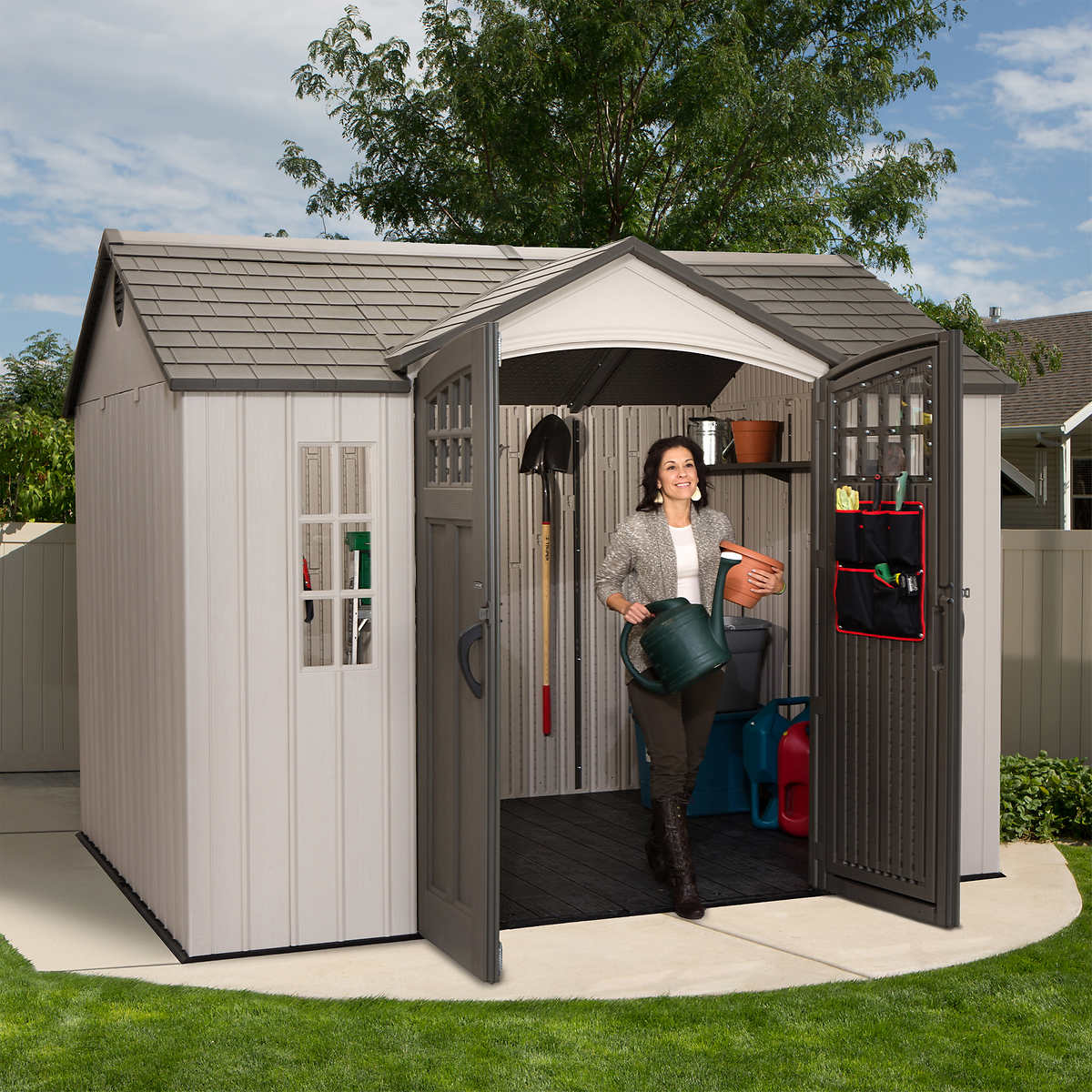 garden sheds edmonton installed