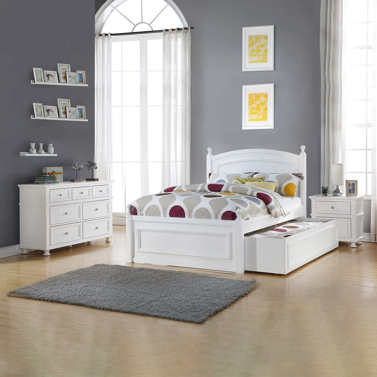 Ava 9-piece Set with Double Bed