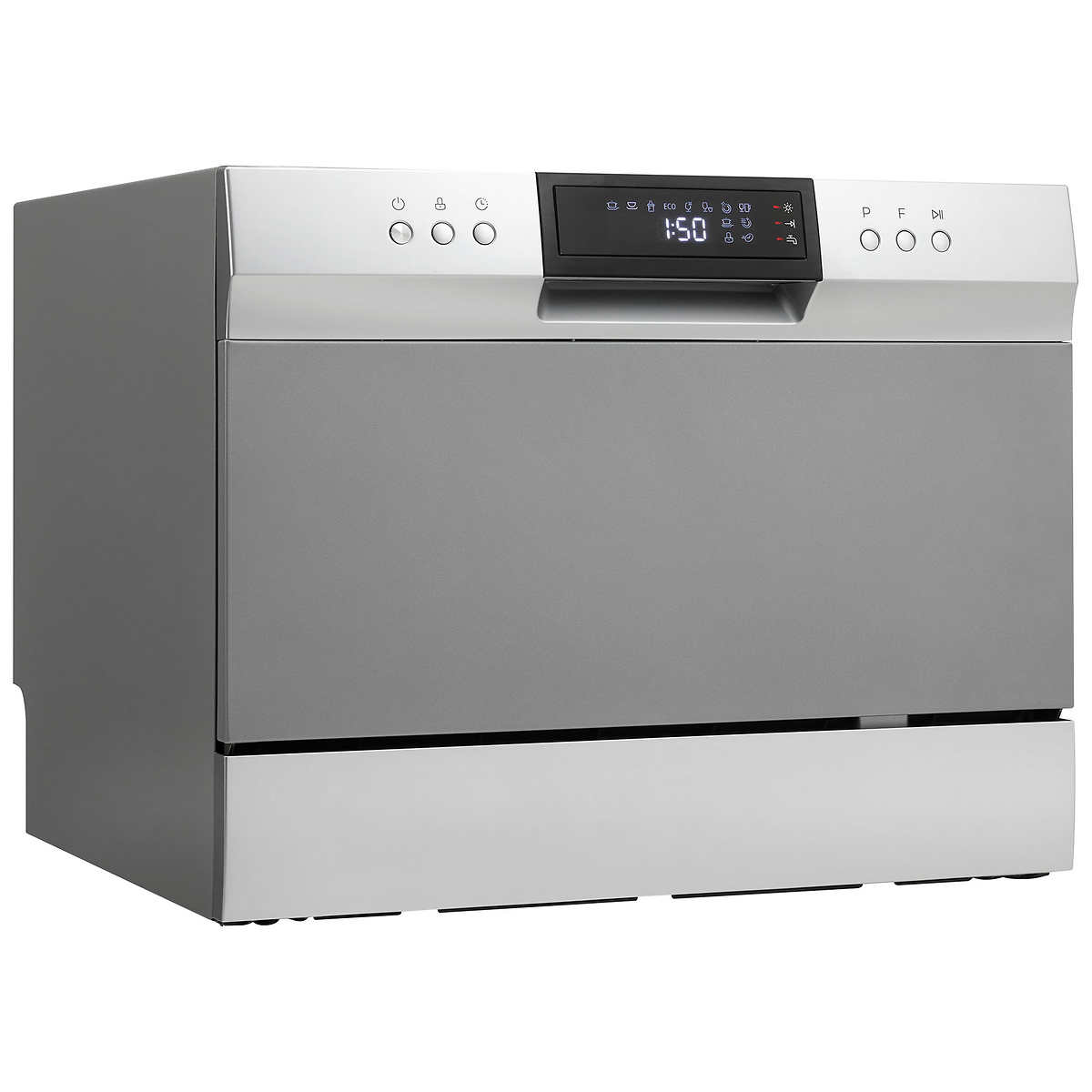 Danby Silver Countertop Dishwasher