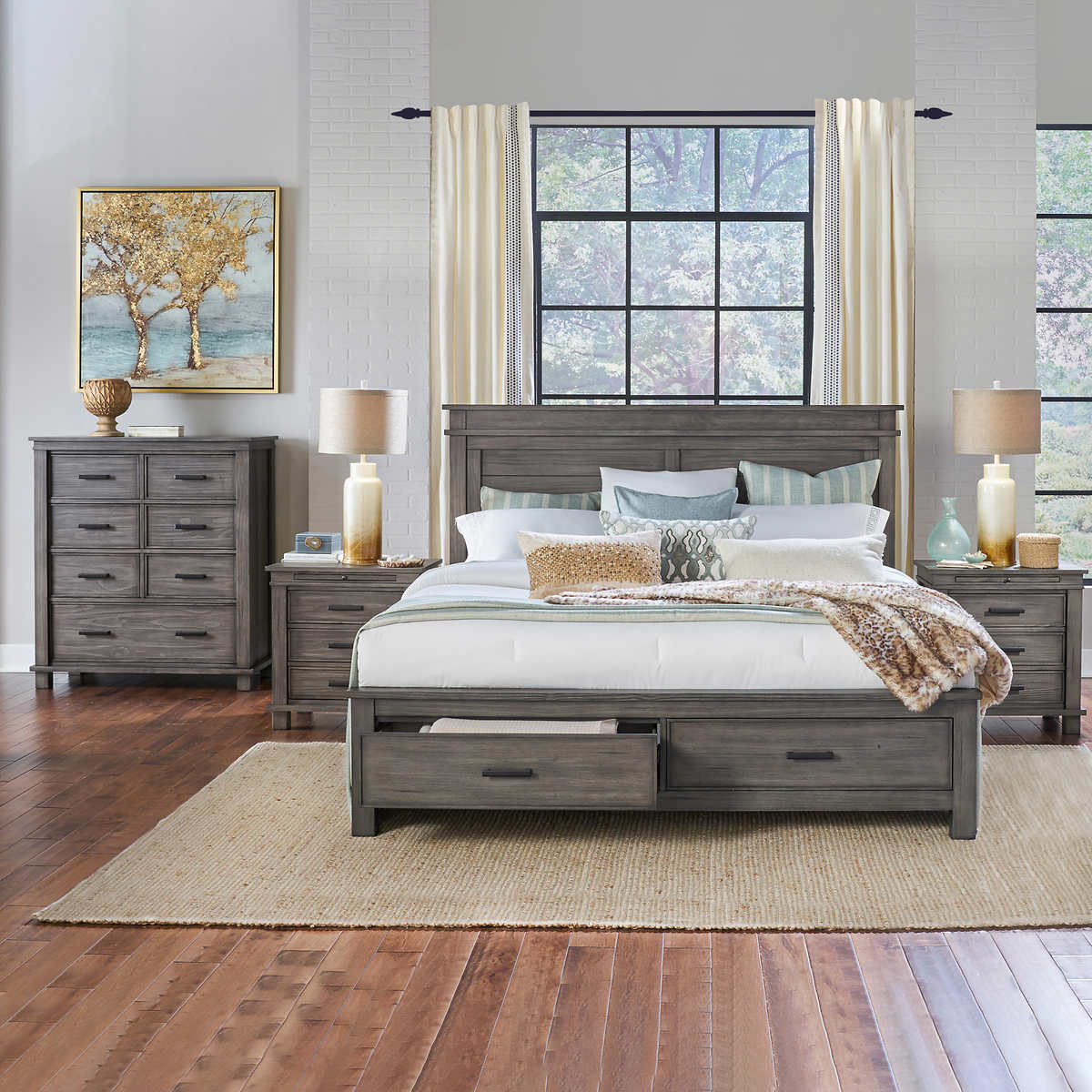 Collins 9-piece Queen Bedroom Set
