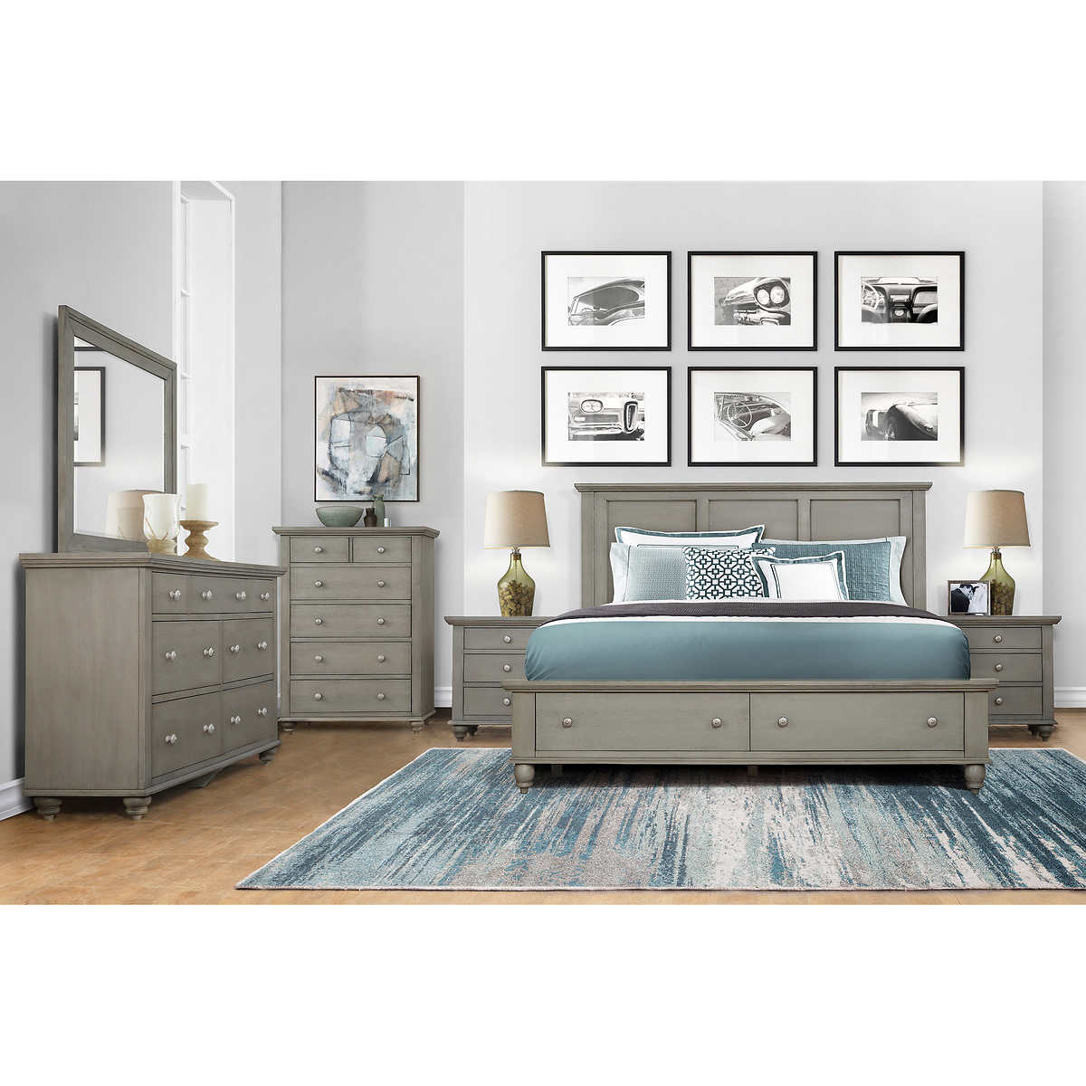 Somerville 9-piece Storage Bedroom Set