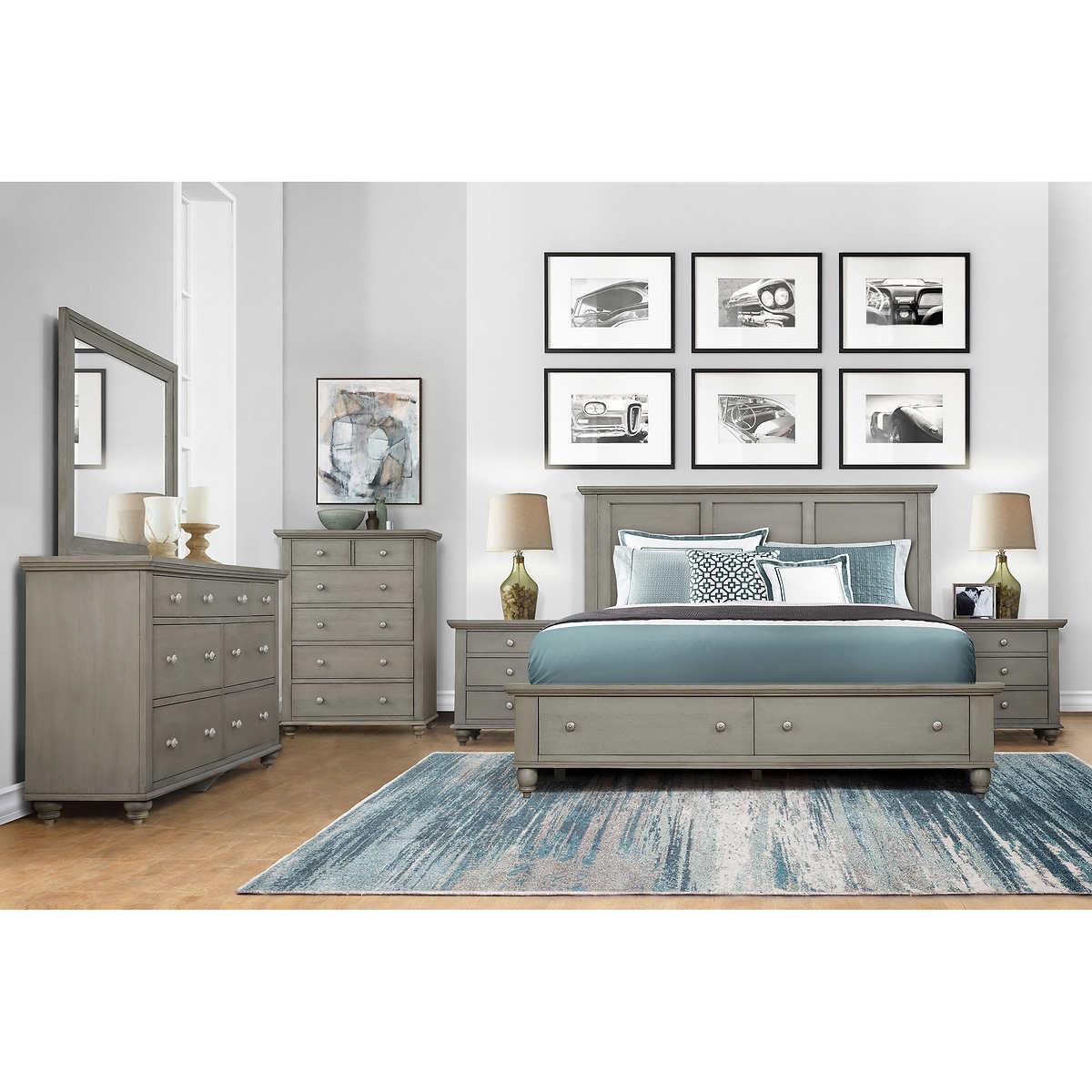 Somerville 3-piece Storage Bedroom Set