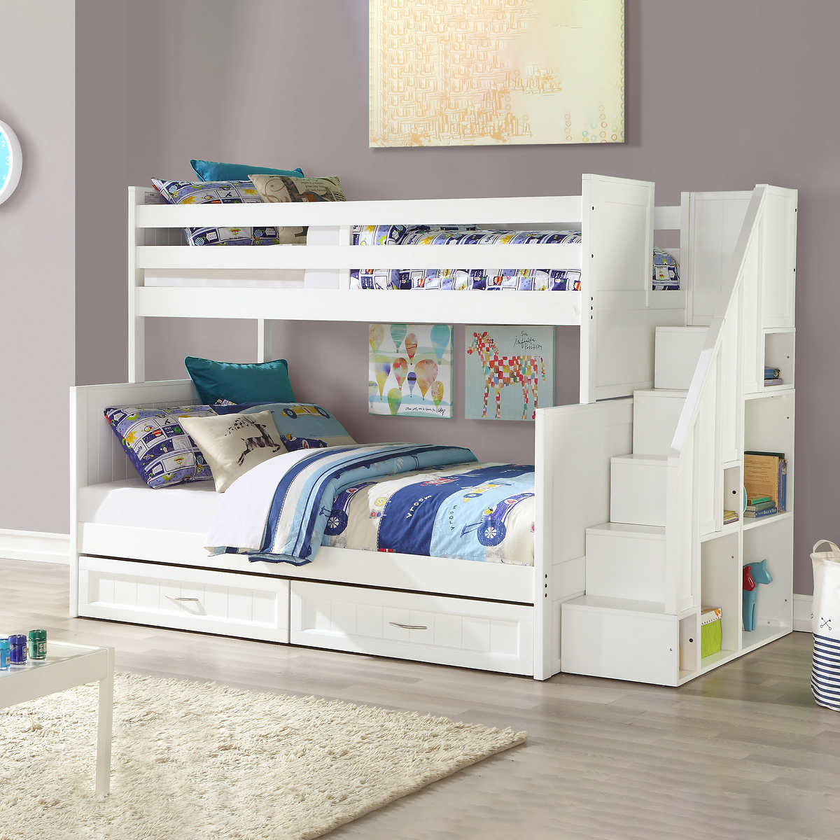 Taylor Twin Over Double Bunk Bed