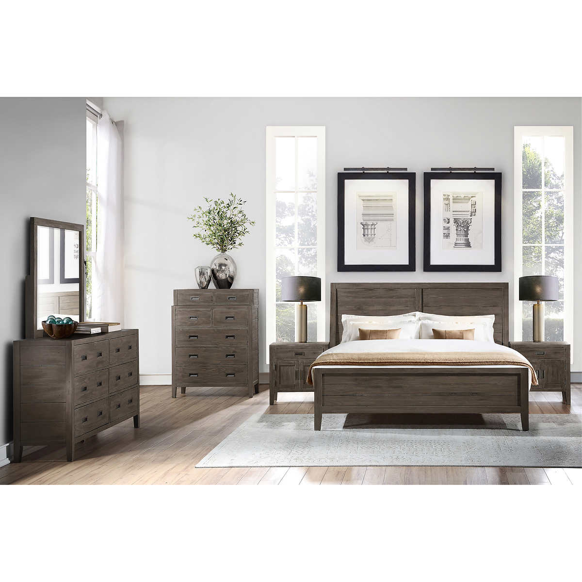 Clarissa 9-piece King Bedroom Set