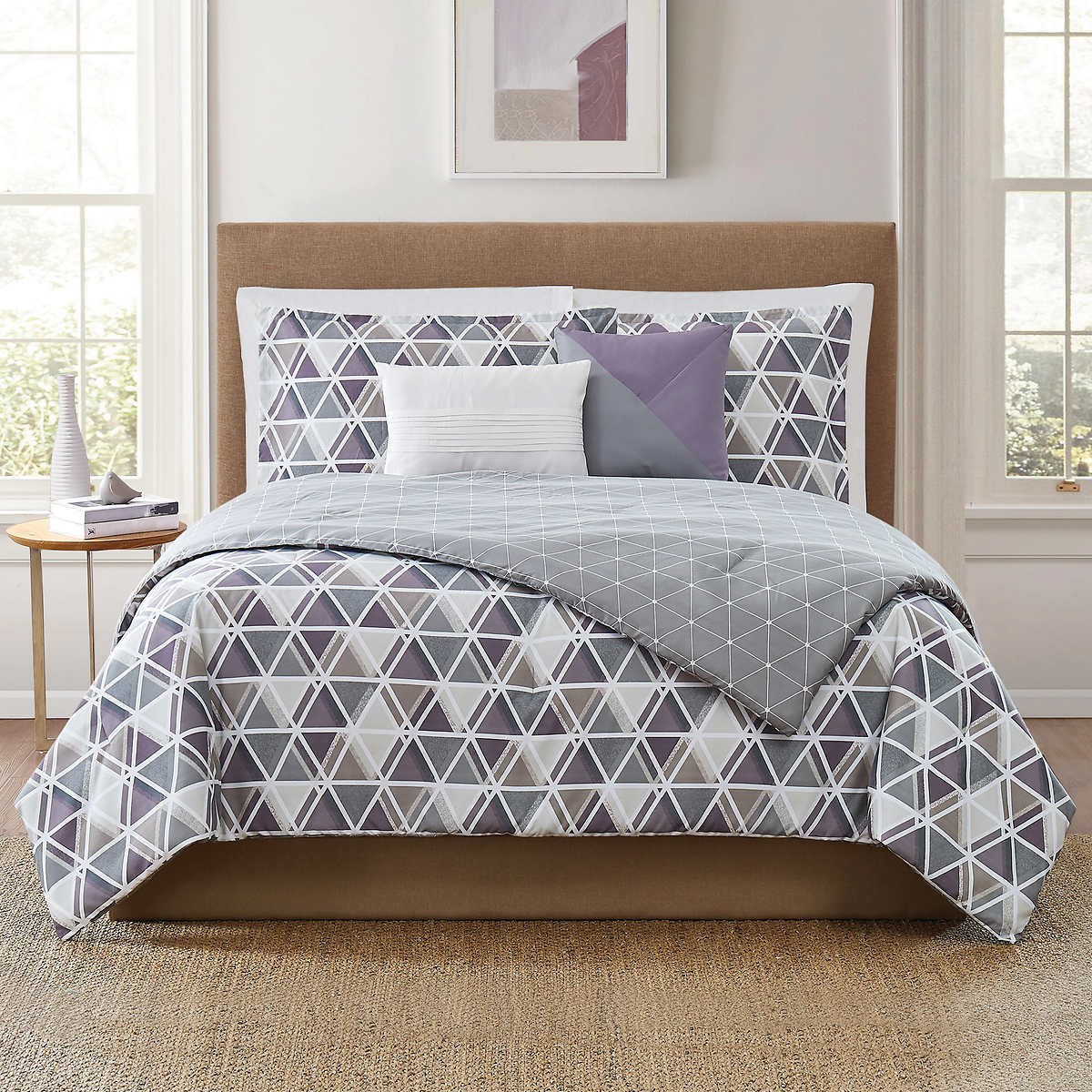 Chelsea printed duvet SET single double king super king quilt cover set  bedding