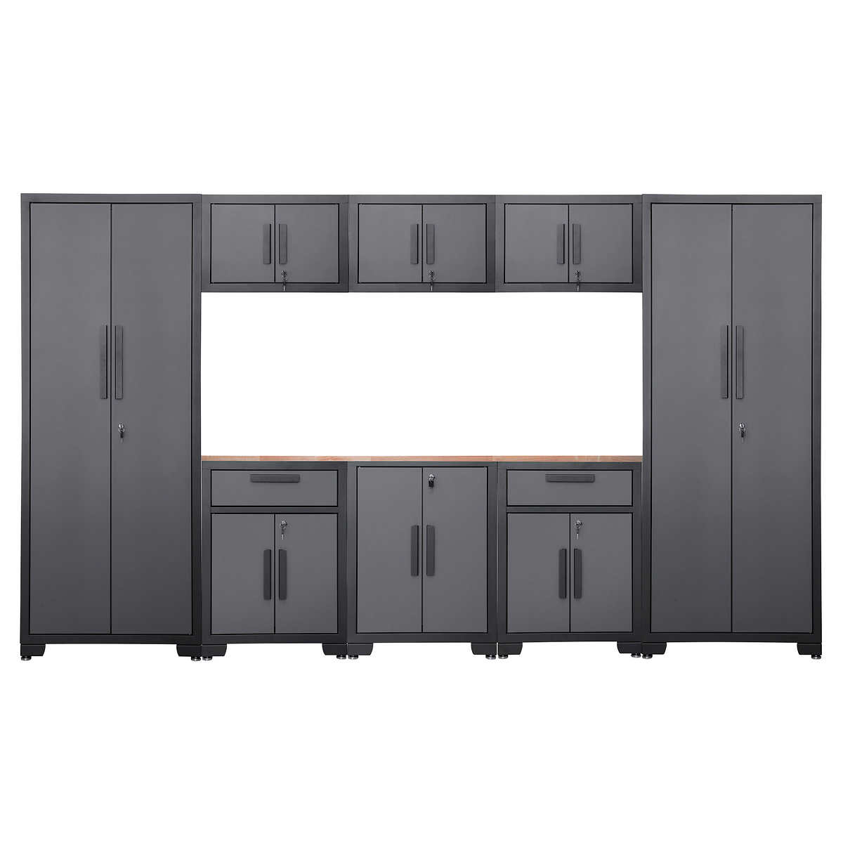 Torin 9 Piece Garage Cabinet Set
