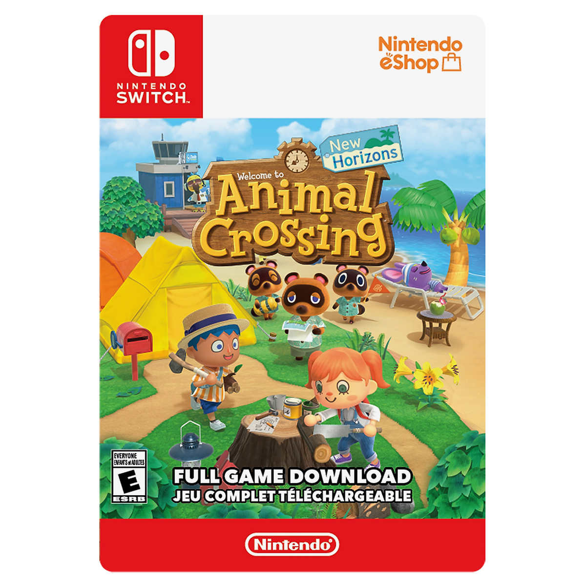 Animal Crossing New Horizons Nintendo Switch Game Digital