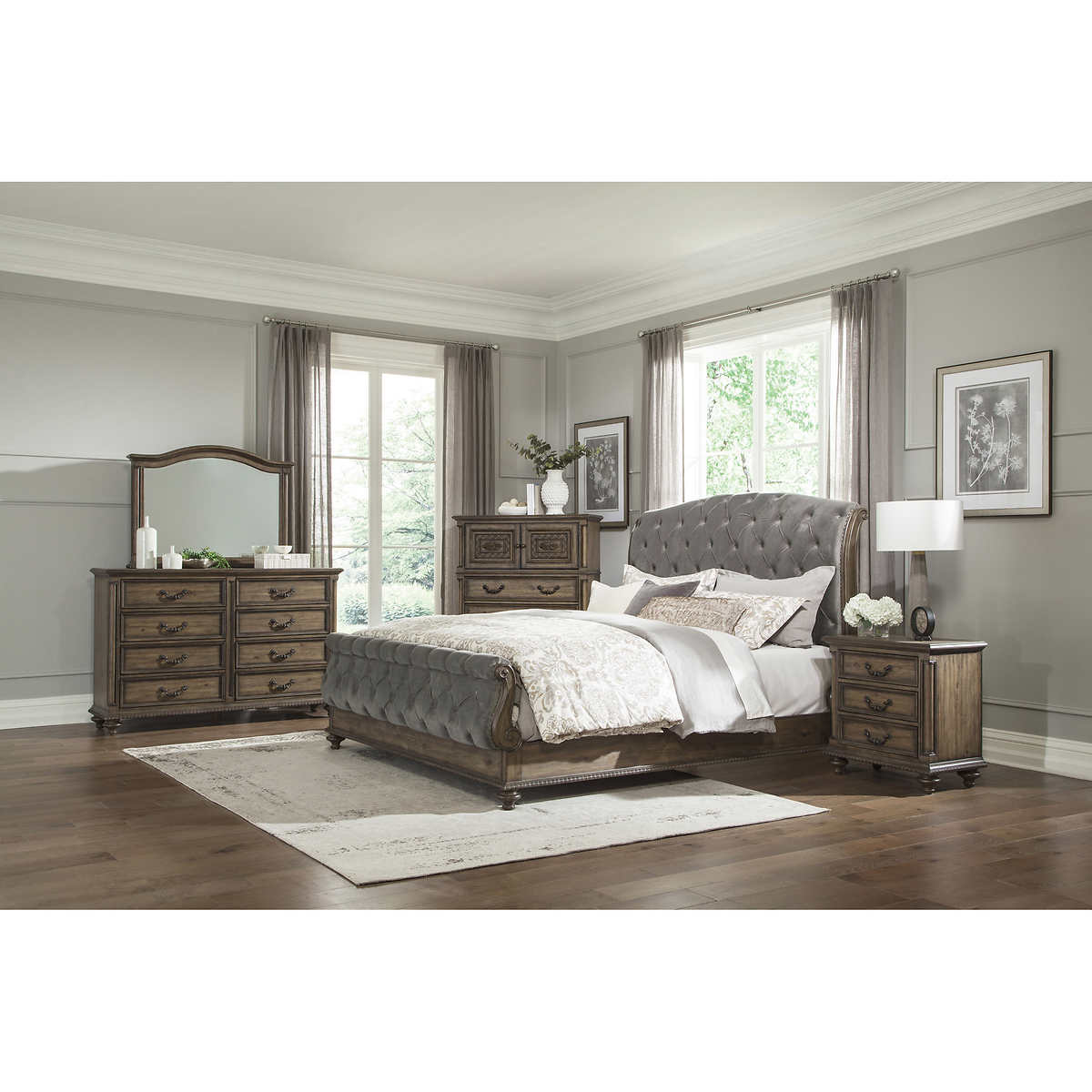 Rachelle 9-piece King Bedroom Set