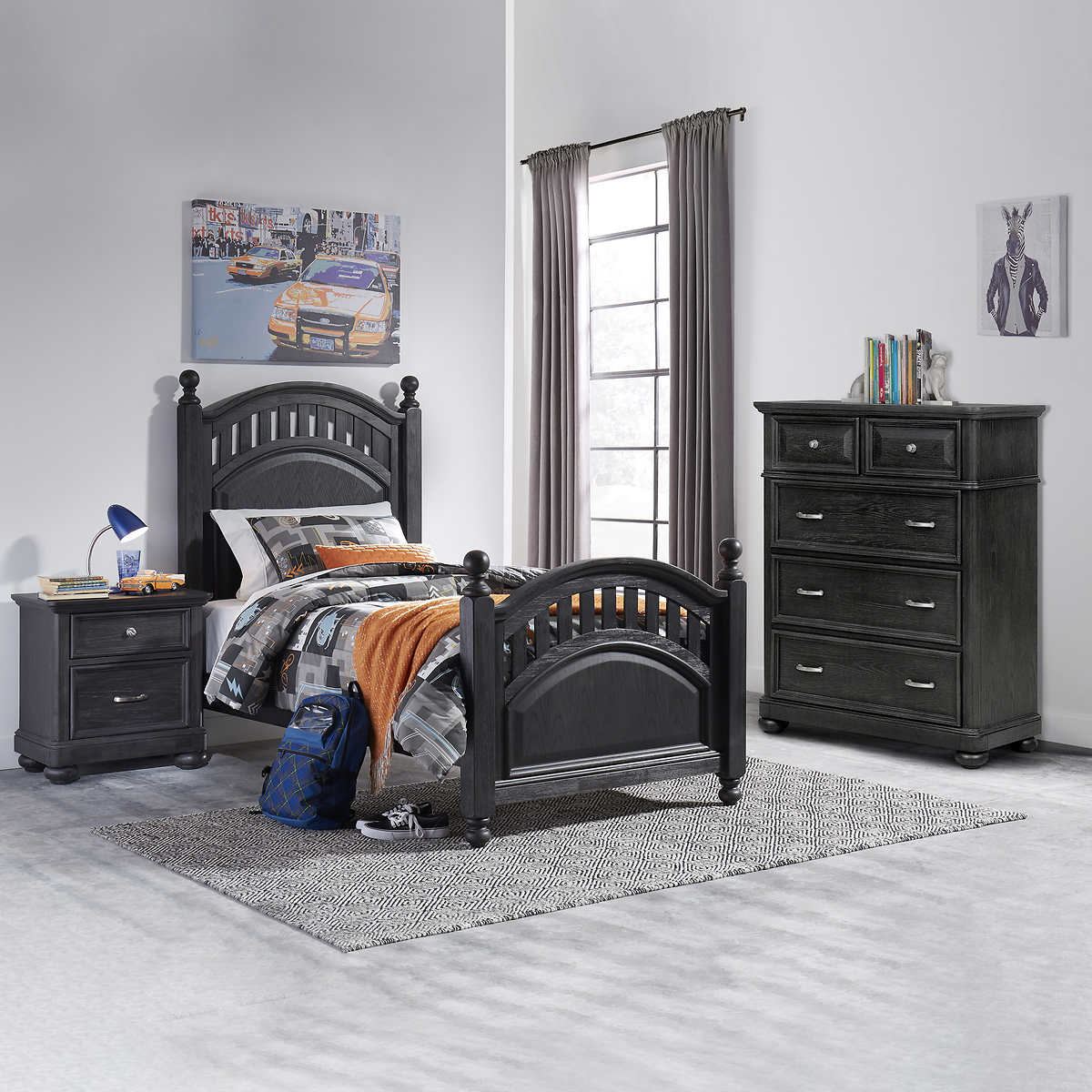 Legion 9-piece Youth Twin Bedroom Set