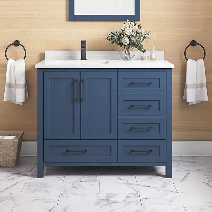 Ove Lourdes 42 In Vanity Costco, Ove Bathroom Vanities Costco