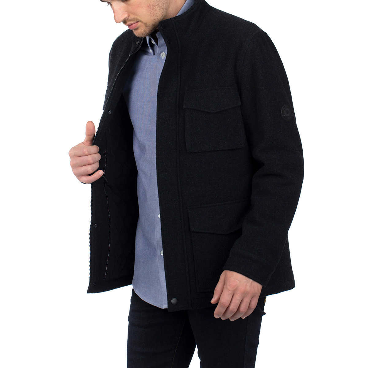 Ben Sherman Men's Wool Jacket