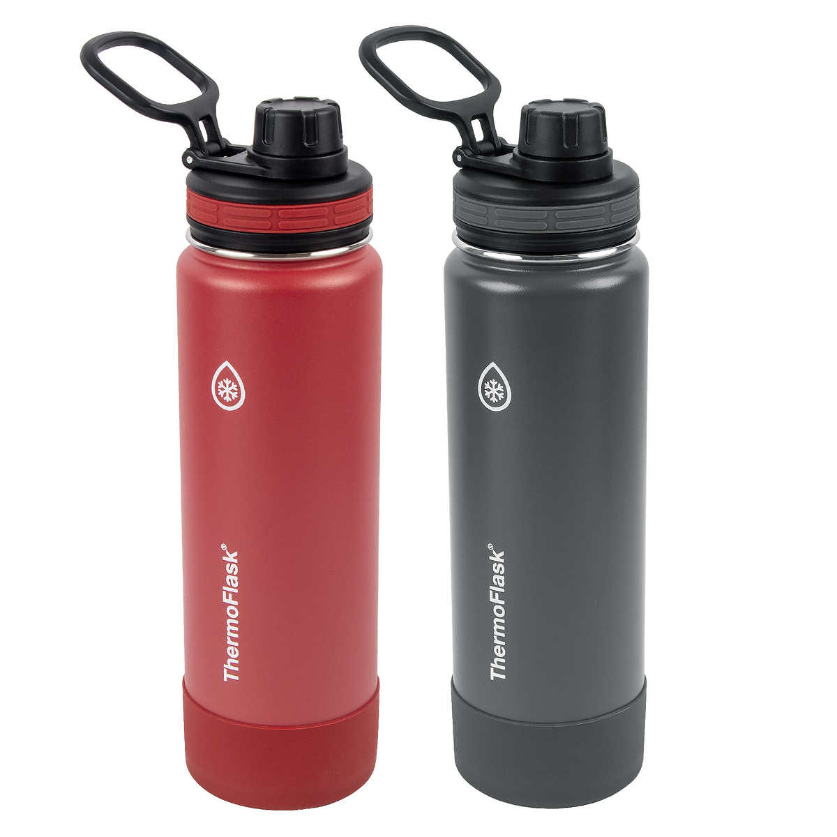 Thermoflask 709 Ml 24 Oz Stainless Steel Insulated Water Bottle 2 Pack