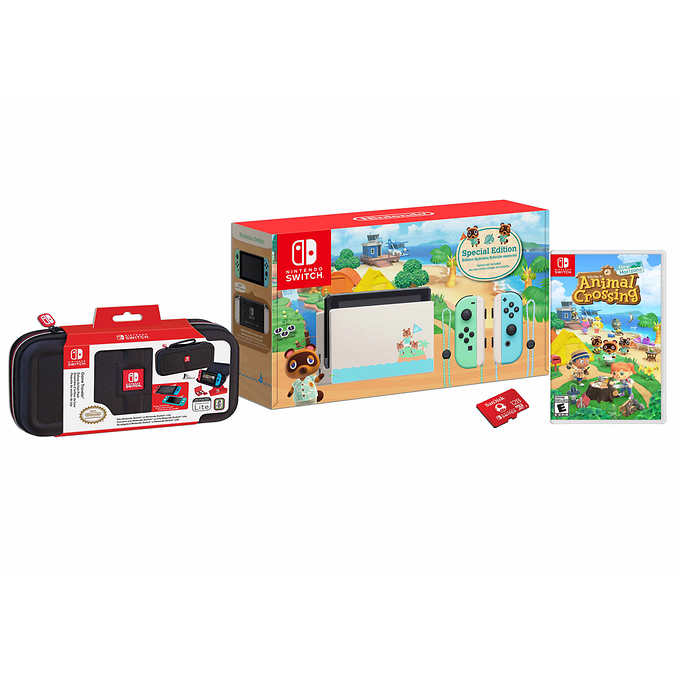 Costco Animal Crossing Nintendo Switch Console Bundle 539 99 Redflagdeals Com Forums Nintendo switch stock does tend to sell out fast, but you still have a fighting chance of scoring the console. costco animal crossing nintendo switch