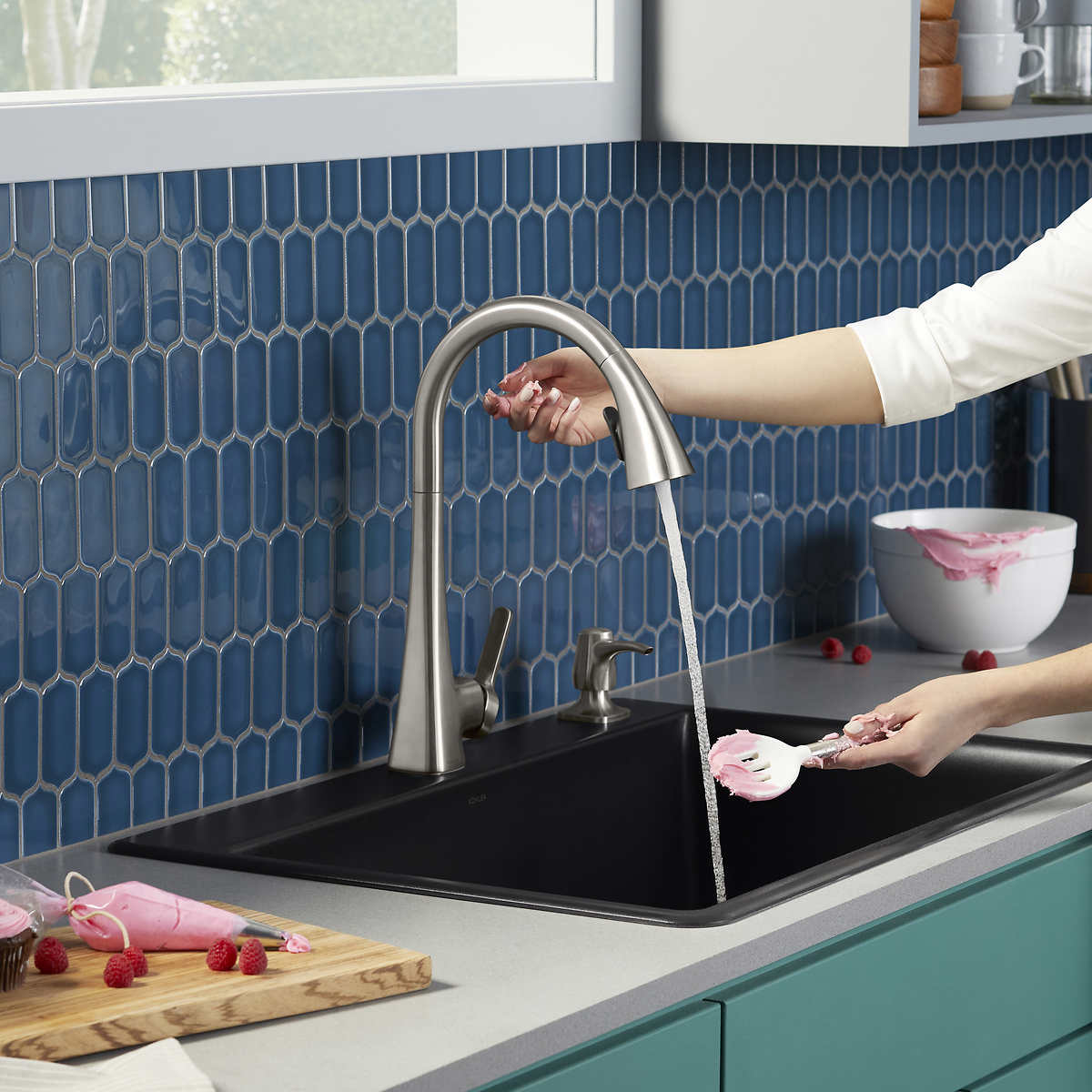 Kohler Maxton Touchless Pulldown Kitchen Faucet Costco