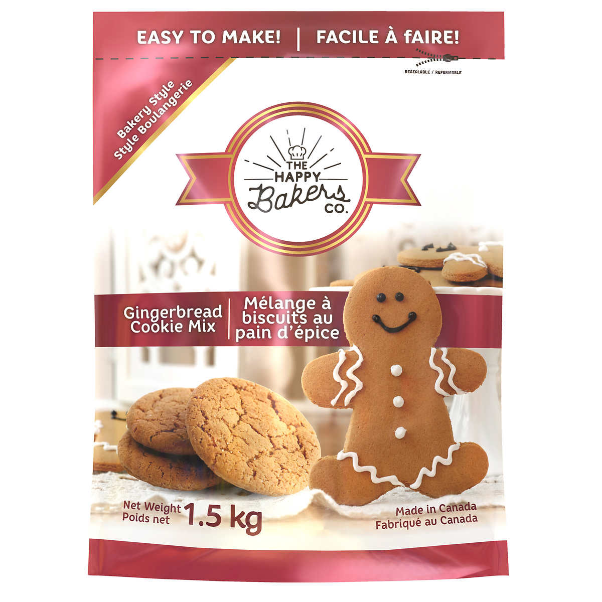 Gingerbread Cookie Mix 1 5kg