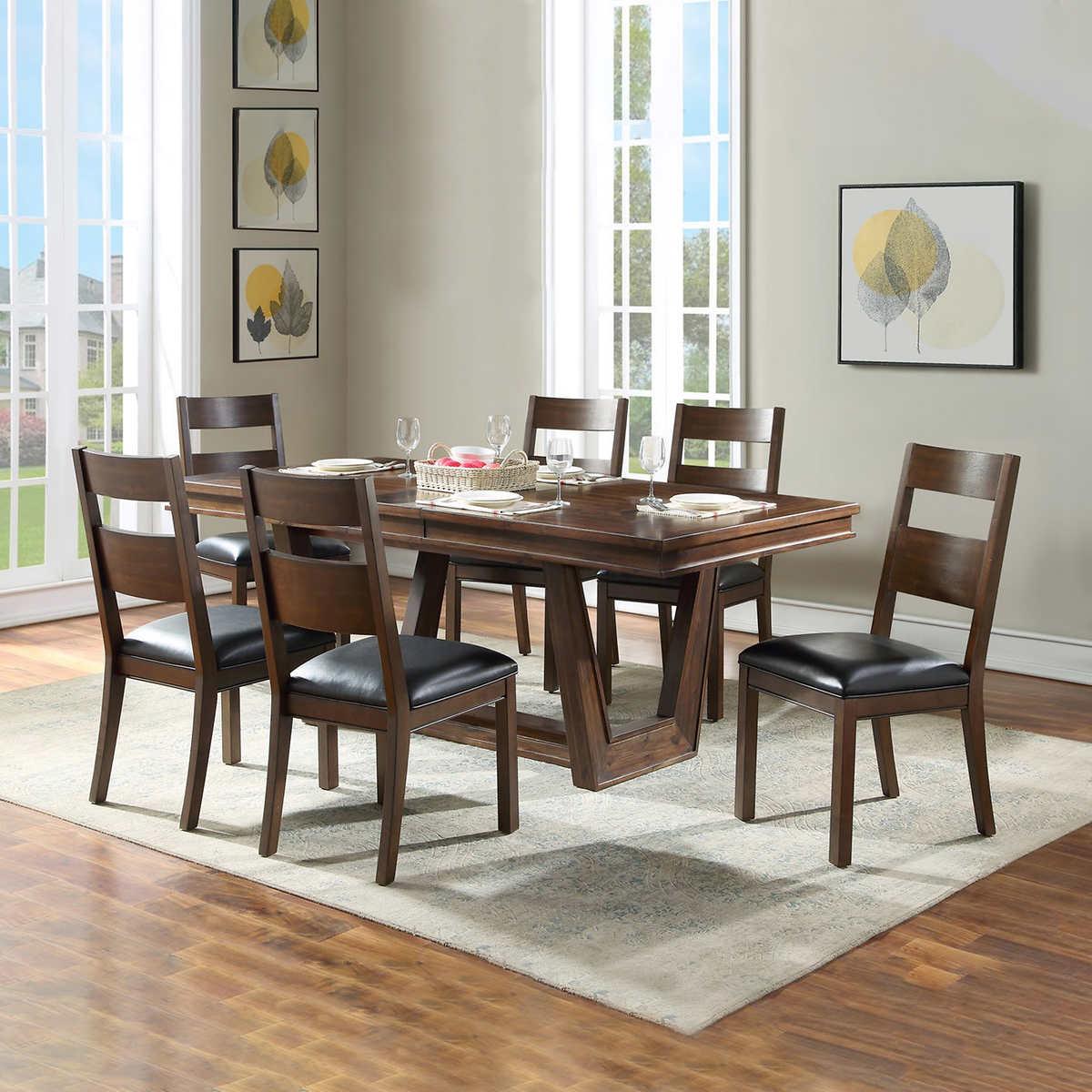 Pierce 9 piece Modern Dining Room Set