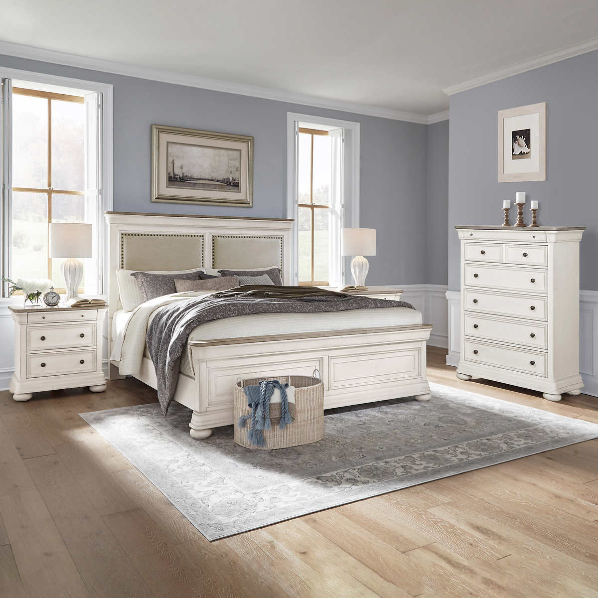 Pulaski Rosella 9-piece Queen Bedroom Set