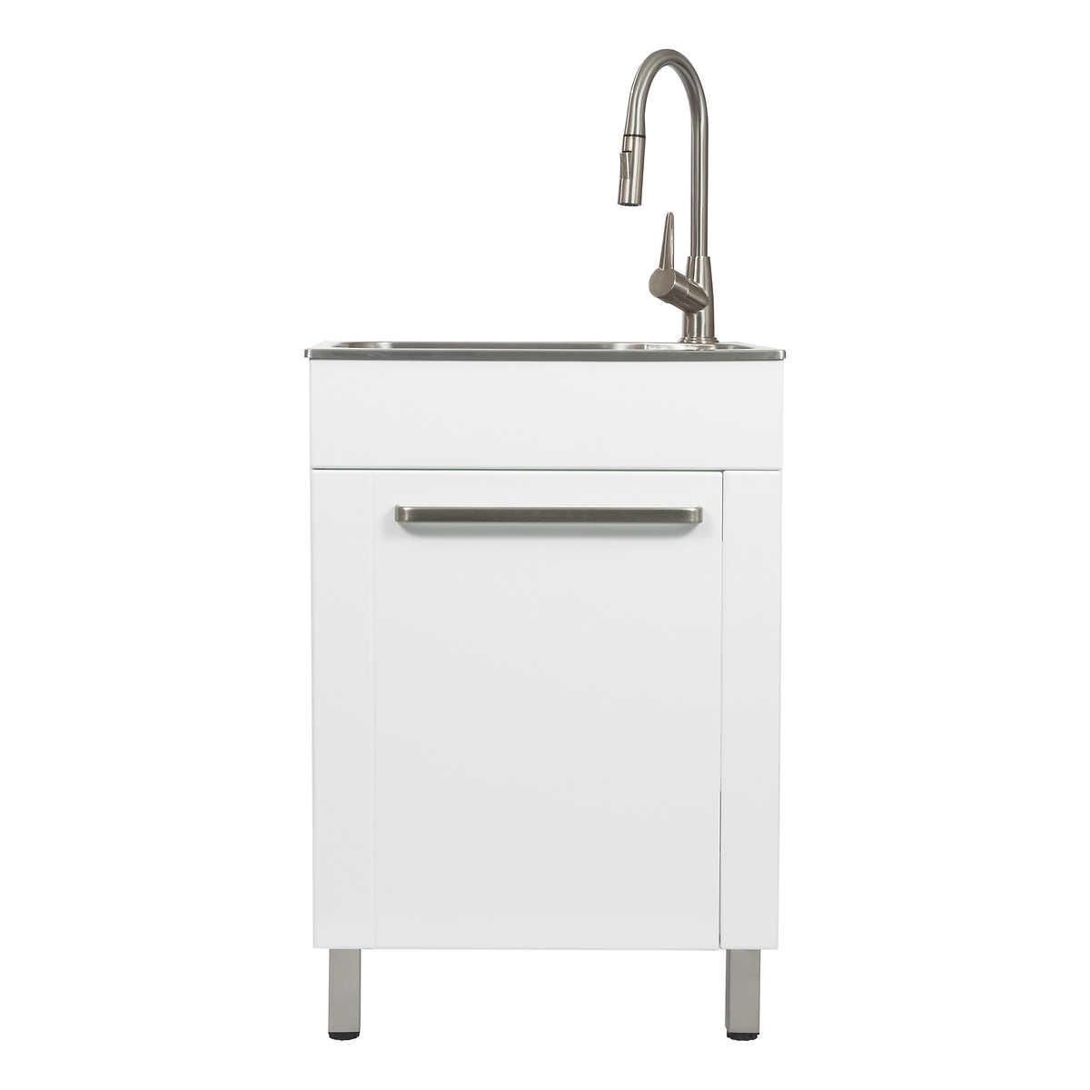 Utility Sink With Cabinet, Laundry Room Sink With Cabinet Costco