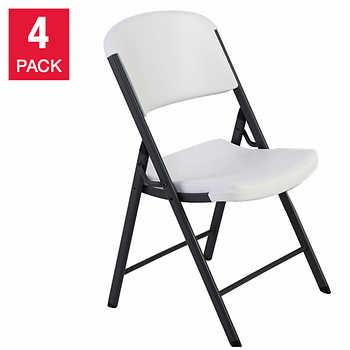 Lifetime Commercial Folding Chairs 4 Pk