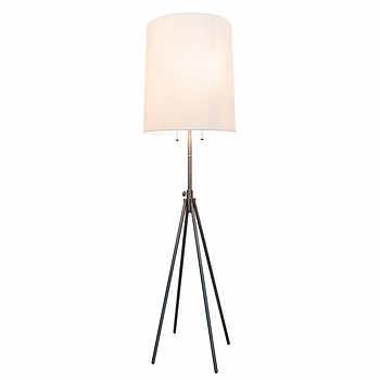 fuller adjustable quad leg floor lamp. Black Bedroom Furniture Sets. Home Design Ideas