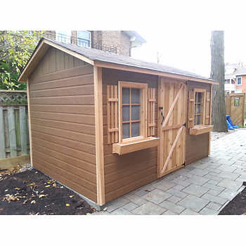 Storage sheds costco canada picture for Garden sheds canada