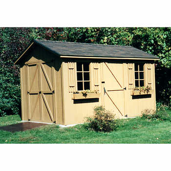Hampton 8 Ft X 12 Ft Storage Shed With Double Doors