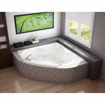 maax murmur 60 in x 60 in corner tub. Black Bedroom Furniture Sets. Home Design Ideas