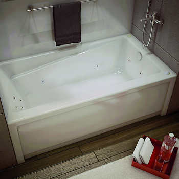 maax new town whirlpool bathtub with right hand drain. Black Bedroom Furniture Sets. Home Design Ideas