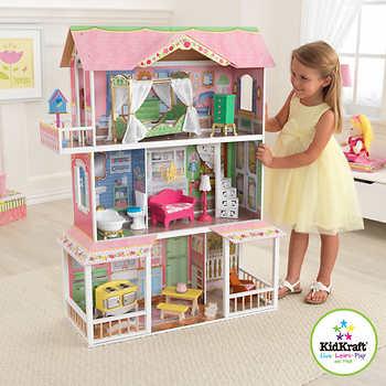 Kidkraft sweet savannah dollhouse - Grande maison de barbie ...