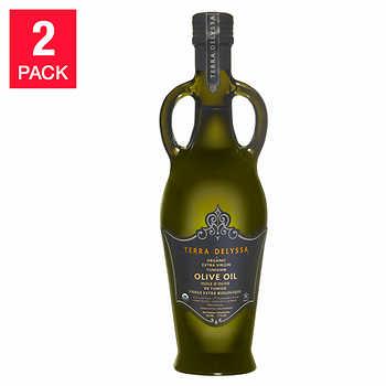 Terra Delyssa Extra Virgin Organic Anfora Olive Oil