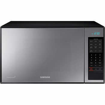 Samsung 1 4 Counter Top Microwave With Ceramic Enamel Interior And Grill Cook Feature