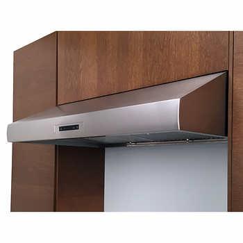 valore titan professional under cabinet range hood