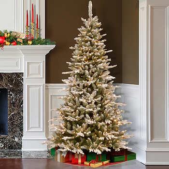 6ft black fibre optic christmas tree with stars
