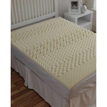 "SleepBetter™ Isotonic 7 Zone 2"" Memory Foam Mattress Topper"