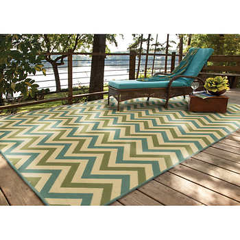 StyleHaven Aidan 100% Polyproplyene Indoor Outdoor Rug
